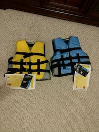 two yellow and blue life vests Mount Juliet, 37122