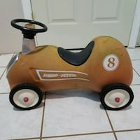 Radio flyer Race Car #8 Sterling, 20164