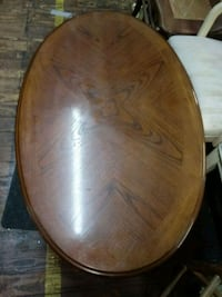 oval brown wooden coffee table Winchester, 40391