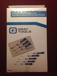 GRAY screwdrivers  Ajax, L1S 7C5