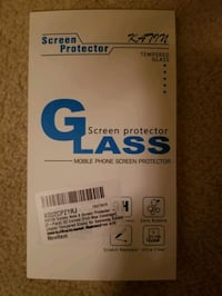 Samsung Note 8 tempered glass screen protectors (two for one)