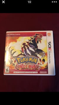 Pokemon Omega Ruby with case Los Angeles, 90011