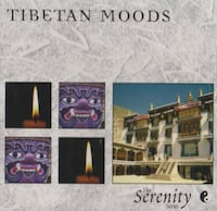 """NEW"" GREAT HOSTESS GIFT for your ZEN FRIEND ** TIBETAN MOODS CD - IF AD'S UP, IT'S STILL AVAILABLE Hamilton"