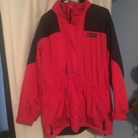 Columbia Women's red zip up jacket Council Bluffs, 51501