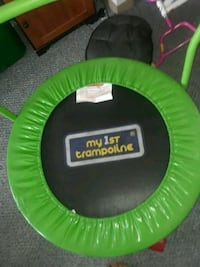 green and black Pro-Form trampoline Lynn, 01902