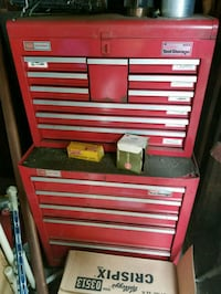 red and gray tool cabinet Greenwich Township, 08027