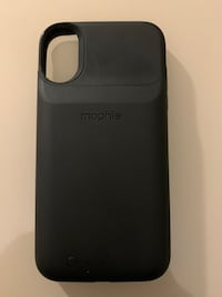 iPhone XR - Black Mophie Wireless Charging Case