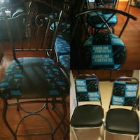 Panthers Stools & Chairs CUSTOM MADE Charlotte