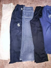 two blue and black jeans 539 km