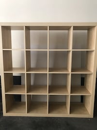 white wooden cube storage shelf Toronto, M6P 1A7