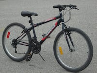 "YOUTH MID SIZE 24"" SC 1800 SERIES 18 SPD MTB QUICK SALE $85.00 FIRM! Mississauga"