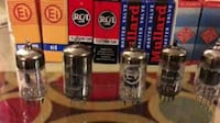 Vintage vacume tubes and vintage electronic parts  Bethlehem