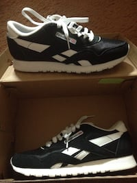 Reebok sneakers and box