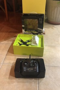 RC drone with carrying case. Broadlands, 20148