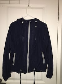 Navy zip-up jacket Pointe-Claire