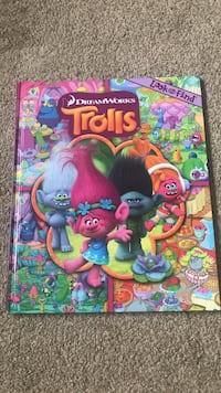 Trolls look and find book Calgary, T3K 0J7