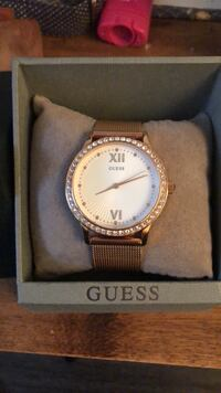 Rose gold sparkly Guess watch Fairfax, 22031