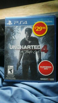 New Sony PS4 Game, Uncharted 4 A Thief's End, BNIB Victoria, V8T 4M7