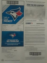 Great game tickets Toronto, M1T 3C1