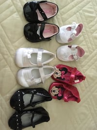 5 pairs of baby girl shoes size 0 to 9 mo Destin, 32541