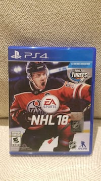 NHL 18 for PS 4