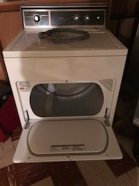 White front-load clothes washer Arlington, 22206