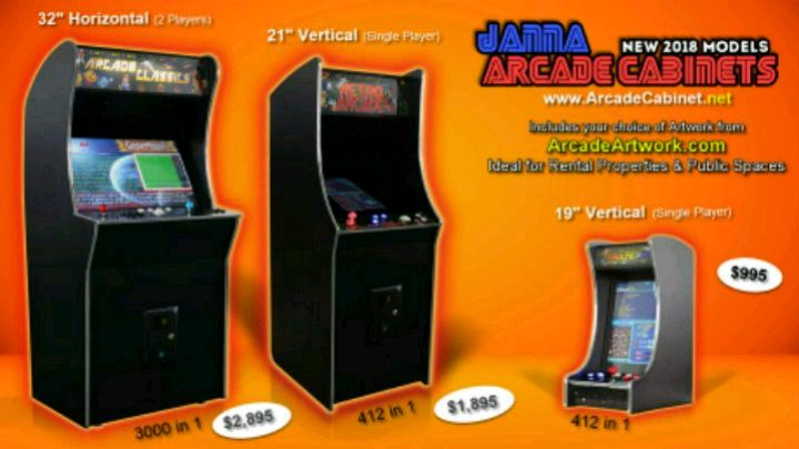 Photo Jamma Arcade Multicade Cabinets