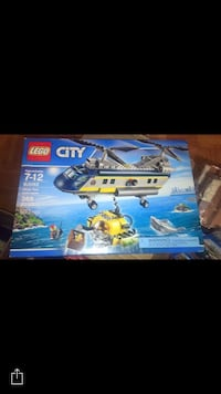 lego city helicopter box