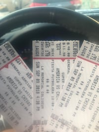 two white and black tickets Anaheim, 92801