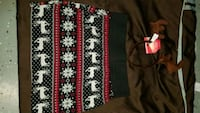 Christmas Skirt Med Rue 21 and Antlers! Ugly Party Roanoke