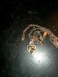 Champagne heart necklace Tucson, 85746