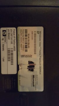 two white and blue tickets North Las Vegas, 89032