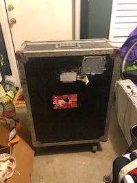 Music Tour Case with wheels