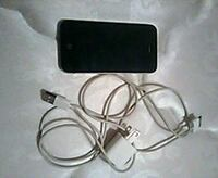 black iPhone 4 with charger Hebron, 21830