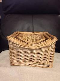 Three baskets