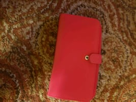 NEW RED WALLET