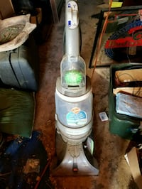 gray and green upright vacuum cleaner Wirtz, 24184