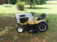 white and black riding mower Cowpens, 29330