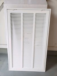 Air filter grille.