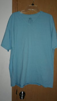 Ladies blue t-shirt
