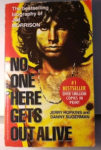 No One Here Gets Out Alive Jim Morrison Biography Catonsville, 21228