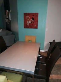 Dinning table with 4 brown chairs  Orlando, 32839