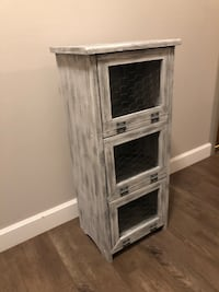 Farmhouse Style Wooden Cabinet  Columbia Heights, 55421