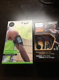 Sports fit armband and  Wireless sports headphones.  Make offer Summerville, 29486