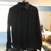 black button-up long-sleeved shirt East Providence, 02916