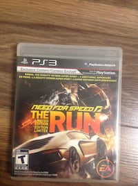 PS3 Need for Speed Carbon game case Laval, H7E 1Y6