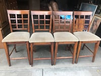 Four chairs Wood