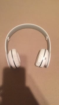 white and gray wireless headphones Spruce Grove, T7X 1E4