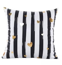 Gold Foil Printing Cushion Covers Without Inserts