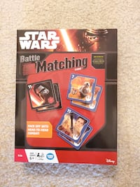 Brand new Star Wars Matching Game Tysons